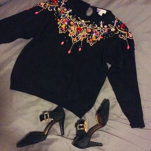 Dripping in Jewels Sweater